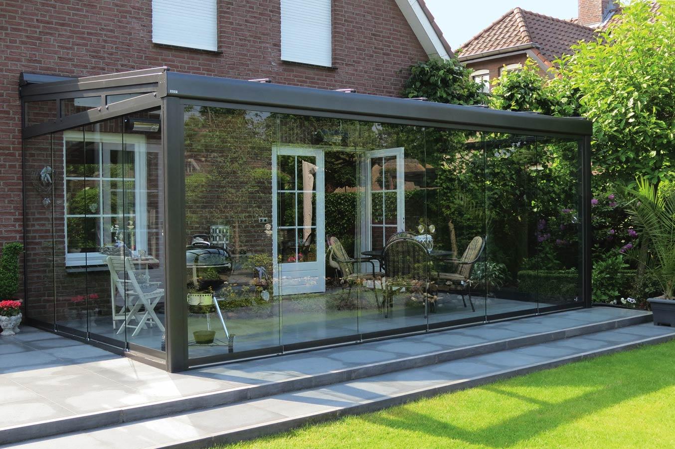 Pergolati da giardino in alluminio: pergolato in alluminio con ...